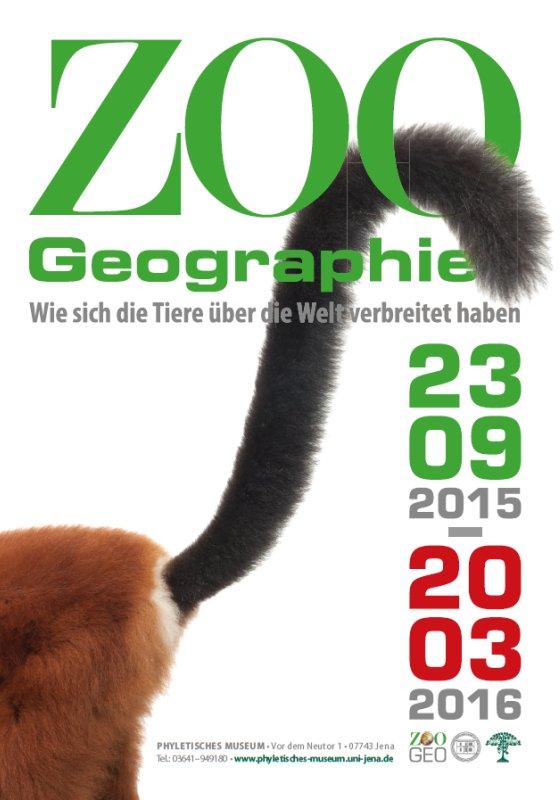 JEZT - Plakat der Sonderausstellung 2015 2016 im Phyletischen Museum - Abbildung © FSU