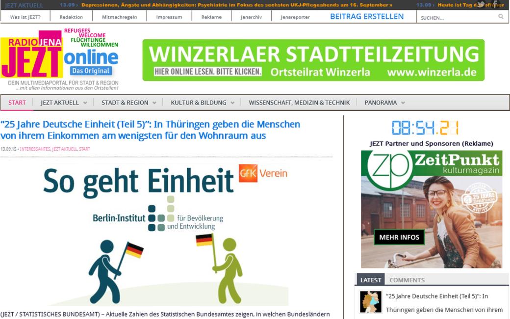 JEZT - Webseite 2015-09-13 - Abbildung © MediaPool Jena