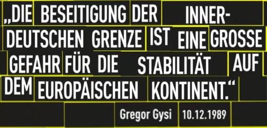 Gysi Statement im Dezember 1989 - Abbildung © FDP
