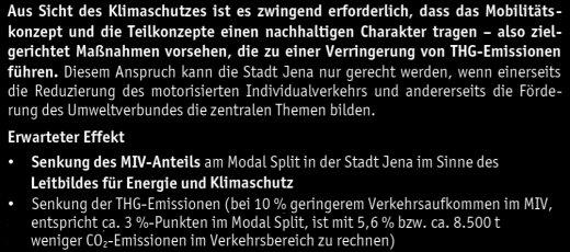 JEZT - Ausschnitt aus dem Klimaschutzkonzept der Stadt Jena 2015 - Seite 49 der Kurzfassung – Abbildung © MediaPool Jena