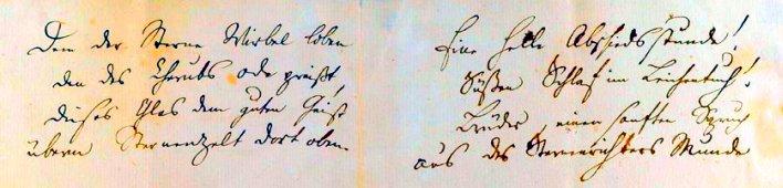 JEZT - Auszug aus dem Originalscript von Schillers Ode an die Freude  - Foto © MediaPool Jena