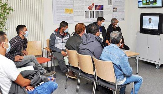 JEZT - Die Uniklinik Jena unterstuetzt bei Fluechtlingsversorgung in Thueringen - Foto © UKJ
