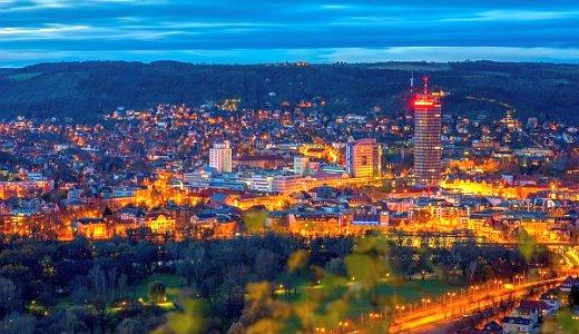 JEZT - Die blaue Stunde in Jena - Foto © JenaKultur Haecker