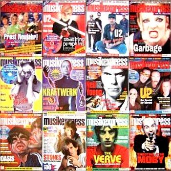 JEZT - Ein Jahrgang des Musikmagazins MUSIKEXPRESS SOUNDS - Symbolbild © MediaPool Jena