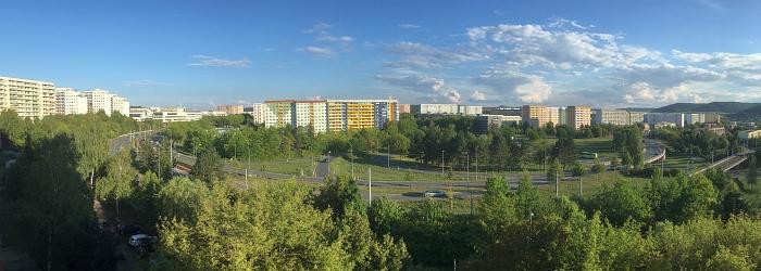JEZT - Panoramablick über Neulobeda - Foto © MediaPool Jena