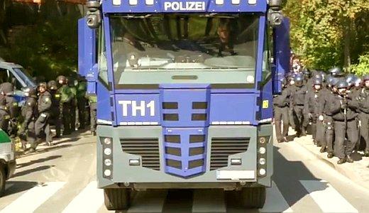 JEZT - Polizeieinsatz in Jena - Videoausschnitt © Mediengruppe Thueringen