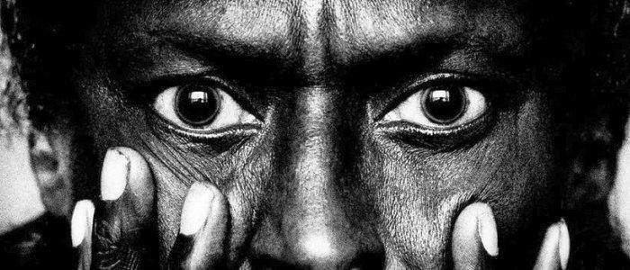 JEZT - Anton Corbijn Ausstellung Berlin 2015 2016 - Fotoausschnitt Miles Davis © Anton Corbijn