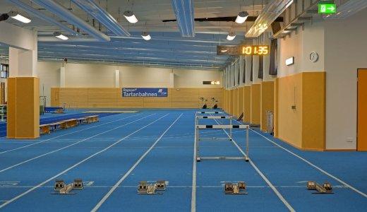 JEZT - Laufhalle in der Jenaer Unteraue - Foto © Stadt Jena KIJ