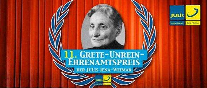 JEZT - Logo Grete-UNrein-Preis Verleihung - Abbildung © JuLis FDP