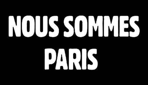 JEZT - Nous Sommes Paris Logo - Abbildung © MediaPool Jena