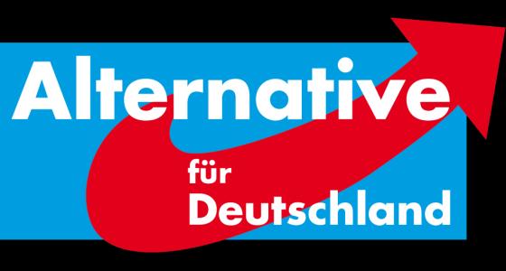 JEZT - Parteilogo der Alternative fuer Deutschland AfD - Abbildung © MediaPool Jena