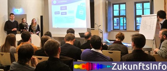 JEZT - Abschlusspräsentation des Seminars zur Unternehmensgründung der FSU vom Januar 2013 - Foto © FSU Kasper