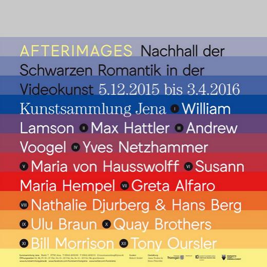 JEZT - Afterimages Plakat - Abbildung © MediaPool Jena