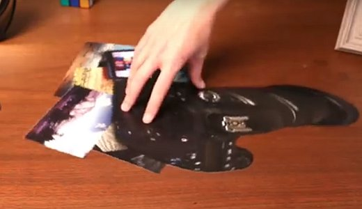 JEZT - Ausschnitt aus dem Video Amazing Anamorphic Illusions - Foto © MediaPool Jena