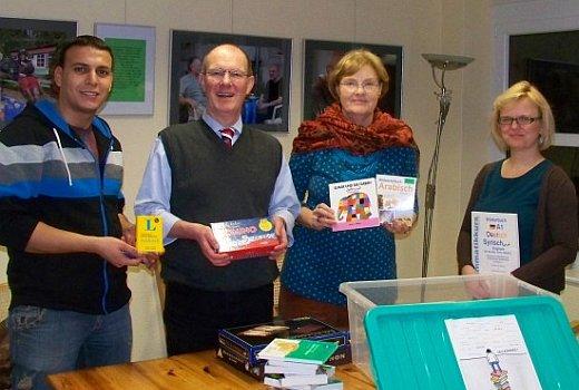 JEZT - Spendenübergabe von EAB Thalia und JenaKulktur an die AWO Jena - Foto © Fachstelle für interkulturelle Öffnung - Pena