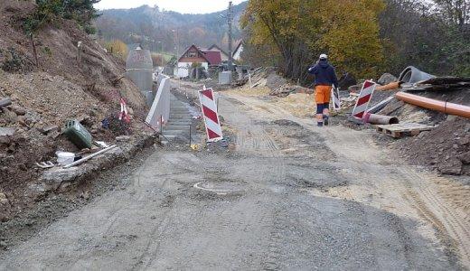 JEZT - Strassenbauarbeiten im Pennickental im Jahre 2011 - Foto © Stadt Jena KSJ
