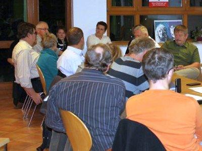 JEZT - Treffen der Bürgerinitiative Windkraft mit Abstand Milda - Foto © BI Gemeinde Milda