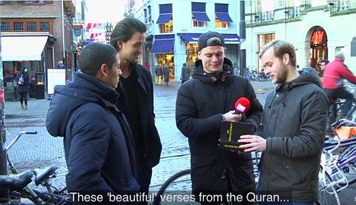 JEZT - das Koran-Bibel Experiment - Screenshot © Dit Is Normaal