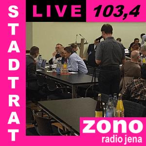 Der ZONO Radio Jena Teaser für STADTRAT LIVE 2016