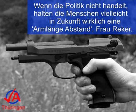 Facebook Foto © Junge Alternative Thüringen 2016-01-06