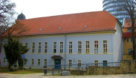 JEZT - Das Gebäude der Rosensäle der Friedrich-Schiller-Universität Jena am Fürstengraben 27 - Foto © FSU Spilling