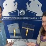 """""""Jede Menge Debatten"""": Die Jenaer Debattiergesellschaft richtet derzeit die Deutsche Meisterschaft im Hochschuldebattieren aus"""