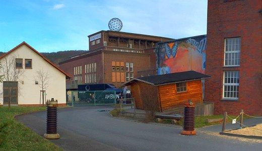 JEZT - Das IMAGINATA Gelände im alten Umspannwerk in Jena-Nord - Foto © MediaPool Jena
