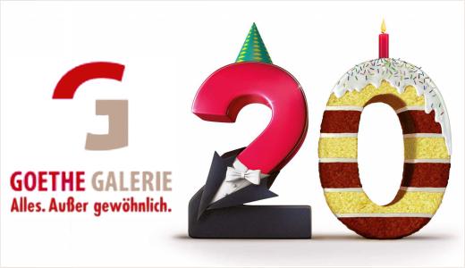 JEZT - Goethe Galerie 20 - Alles Außer gewöhnlich Logo - Abbildung © MediaPool Jena