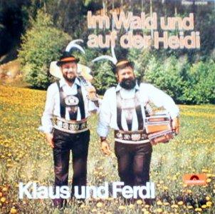 JEZT - Im Wald und auf der Heidi - Coverabbildung © Polydor