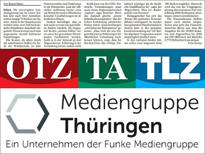 JEZT - Mediengruppe Thüringen - Symbolbild © MediaPool Jena
