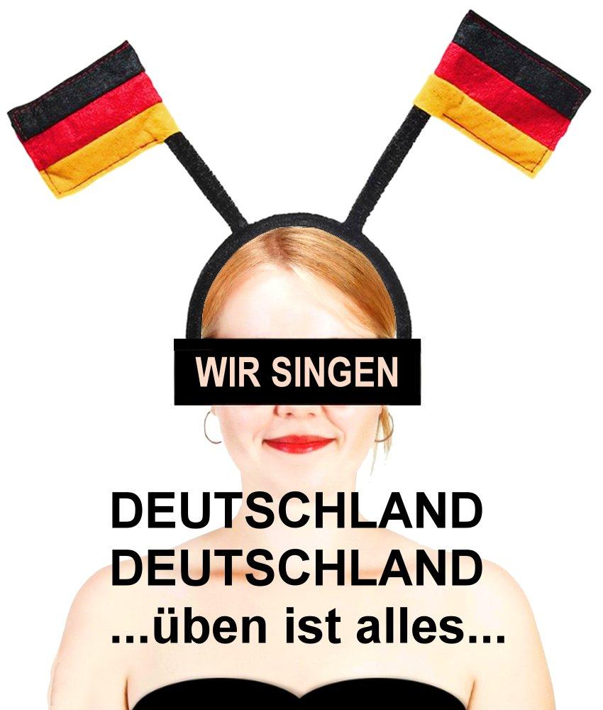 JEZT - Wibke Mühsal - Deutschland Deutschland üben ist alles mit Fähnchen