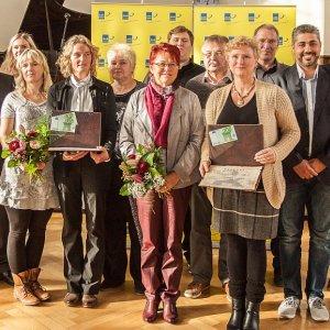 Preisträger der Grete-Unrein Ehrenamts-Preises 2015 - Foto © FDP JuLis