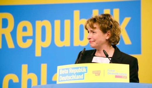 FDP Nicola Beer beim 67. BPT