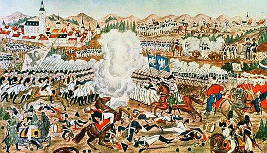 JEZT - Die Schlacht bei Jena am 14. Oktober 1806 - Abbildung eines Bildes aus der Sammlung Preussischer Kulturbesitz © MediaPool Jena