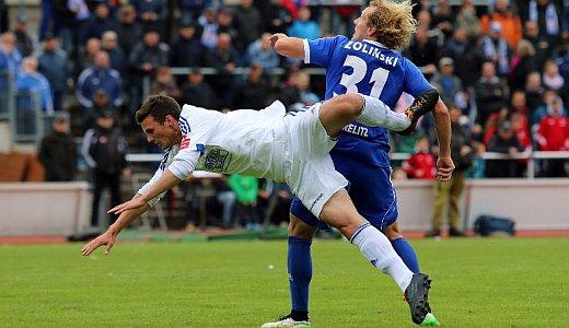 JEZT - Spielszene des FC Carl Zeiss Jena gegen Neustrelitz - Foto © FCC