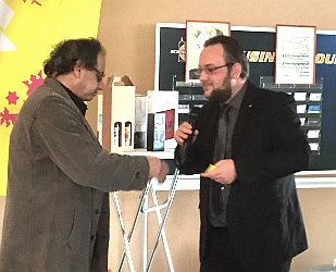 Preisverleihung der JuLis beim Frühjahrsempfang der FDP