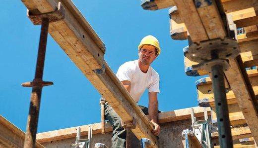 FDP Arbeit auf dem Bau Symbolfoto