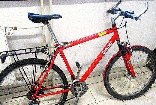 JEZT - Die Polizei in Jena sucht den Eigentümer dieses Fahrrades - Bildquelle LPI Jena