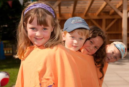 JEZT - Kinder der Kita Glühwürmchen - Foto © ASB Jena