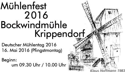 JEZT - Mühlenfest 2016 in Krippendorf Teaser - Abbildung © MediaPool Jena