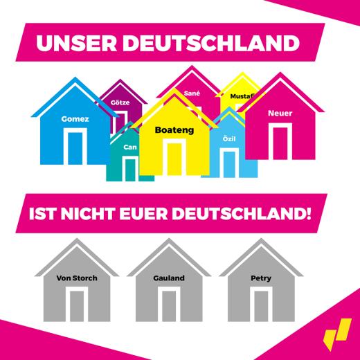 JuLis Tafel Unser Deutschland