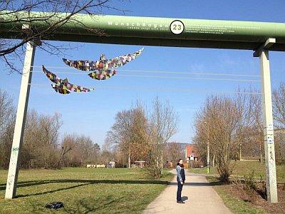 JEZT - Kunstprojekt Adern von Jena - Fotomontage © Anne Schwing