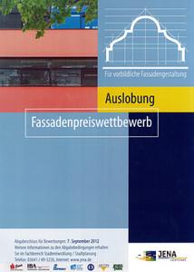 JEZT - Logo der Auslobung zum Fassadenpreiswettbewerb der Stadt Jena - Abbildung © MediaPool Jena