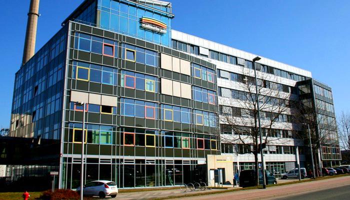 JEZT - Das Geschäftsgebäude der Stadtwerke Jena Gruppe in der Rudolstädter Straße - Foto © Stadtwerke Jena Pößneck