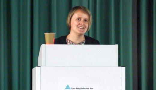 JEZT - Ernst-Abbe-Hochschule Prof. Dr. Diana Dühring - Foto © EAH Sigrid Neef