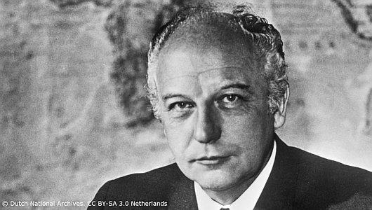 FDP Walter Scheel - Foto © Dutch National Archives