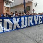 "Aktion von ""Südkurve bleibt"" - Symbolfoto © MediaPool Jena"