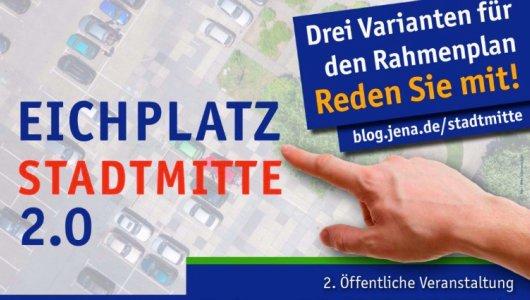 JEZT - Einladung zu Jena Stadtmitte 2.0 - Abbildung © Stadt Jena