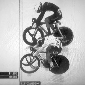 JEZT - Kristina Vogel Fotofinish bei den Olympischen Spielen in Rio 2016 - Screenshot © MediaPool Jena