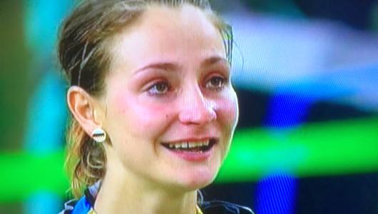 JEZT - Kristina Vogel bei den Olympischen Spielen in Rio 2016 - Screenshot © MediaPool Jena